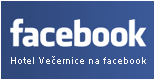 Hotel Ve�ernice na facebook